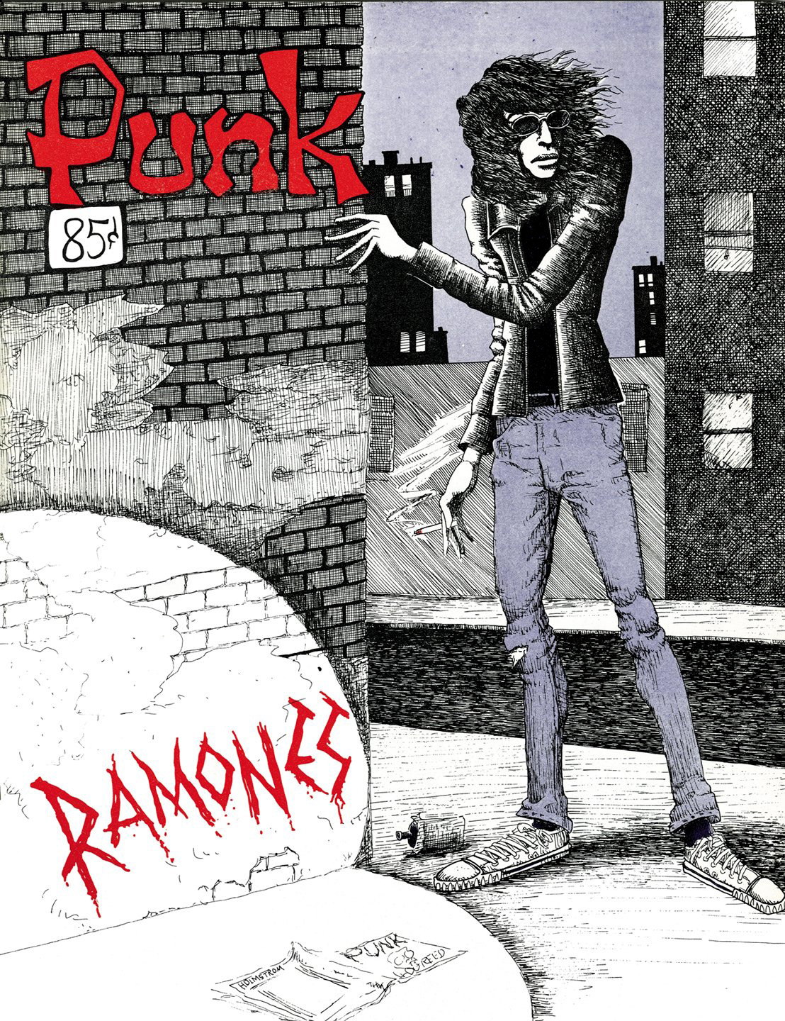 Joey Ramone Punk Magazine