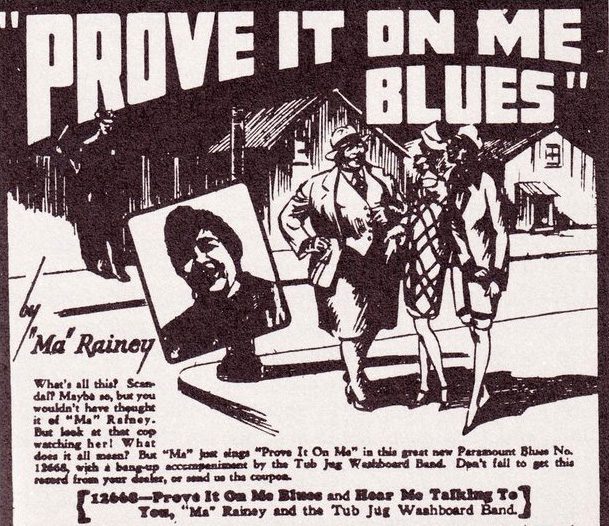 ma rainey prove it on me