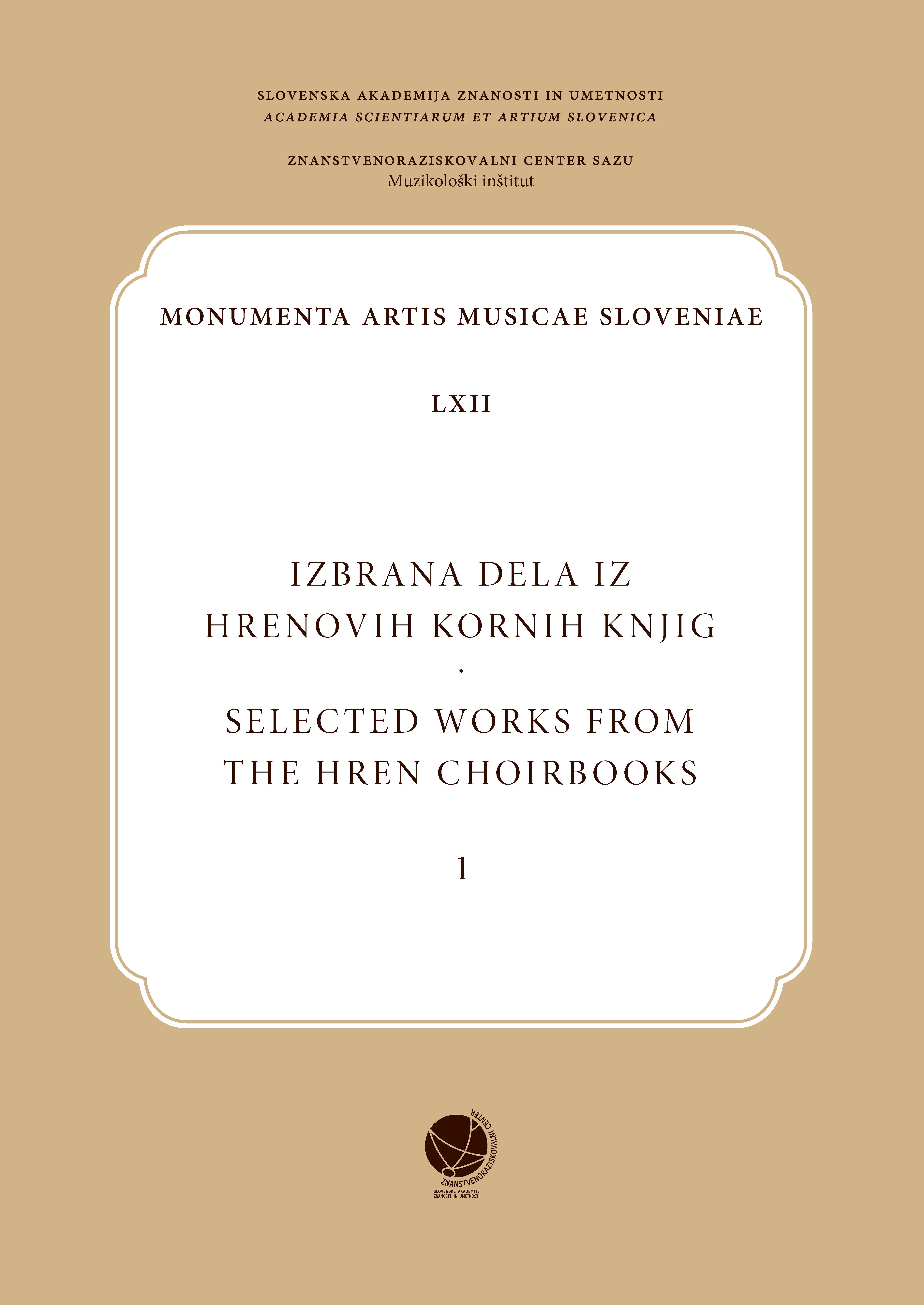 Hren choirbooks
