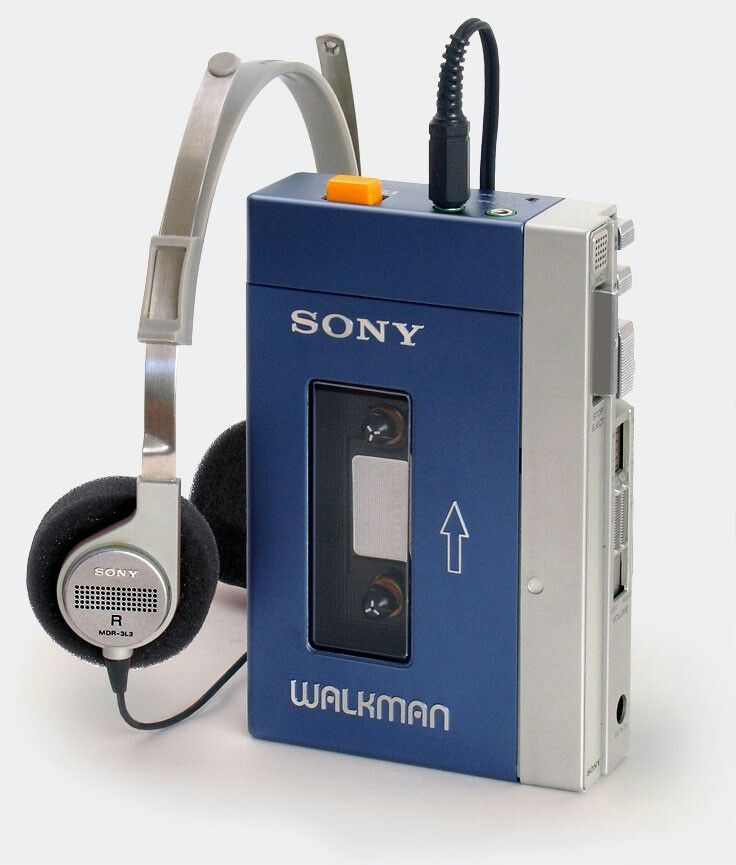 """Smithsonian Collections Object: The Sony TPS-L2 """"Walkman"""" Cassette Player,  National Museum of American History 
