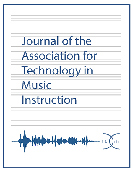 Featured image for post 'Journal of the Association for Technology in Music Instruction